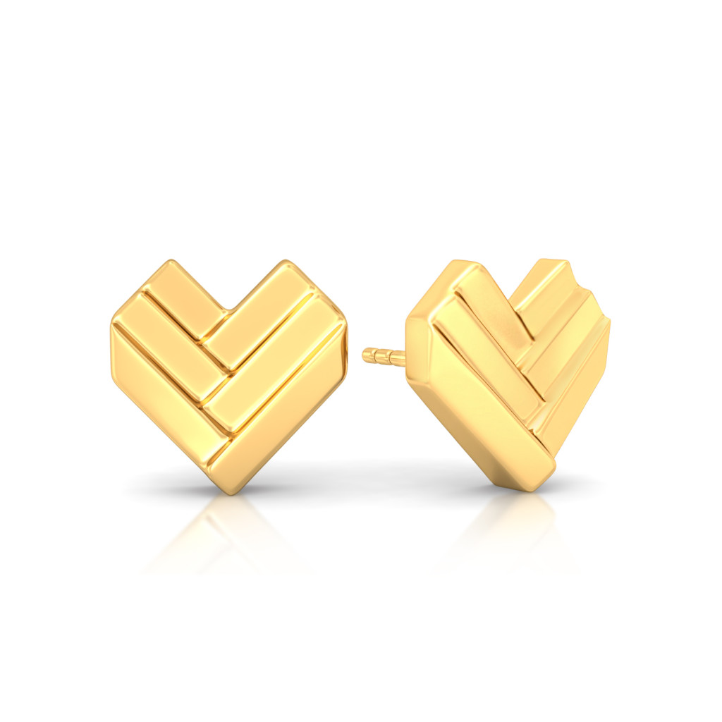 Saint Valentine Gold Earrings