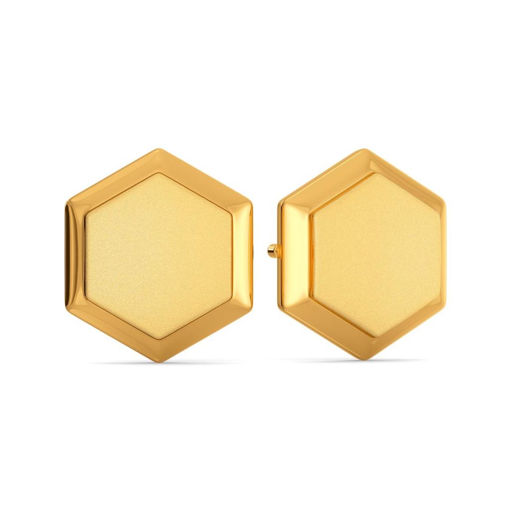 Slay it Subtly Gold Earrings