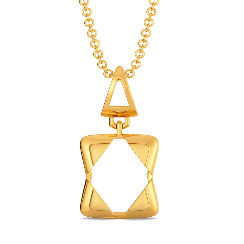 Basics Redefined Gold Pendants