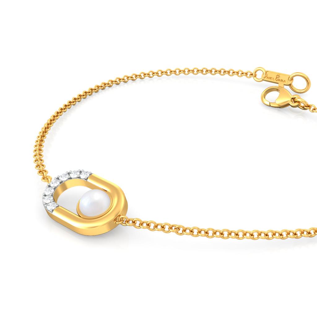Diamonds & Pearl Diamond Bracelets