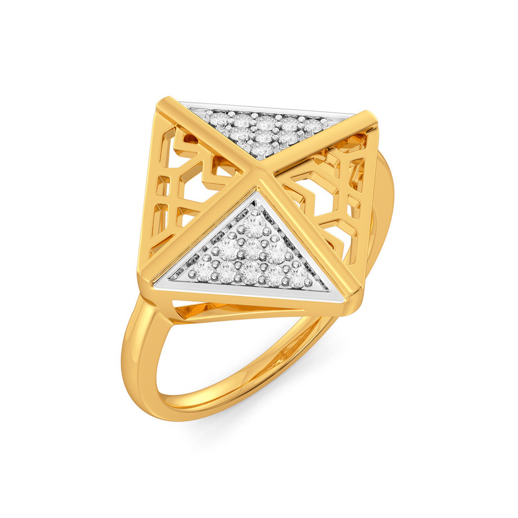 The Lace Phase Diamond Rings