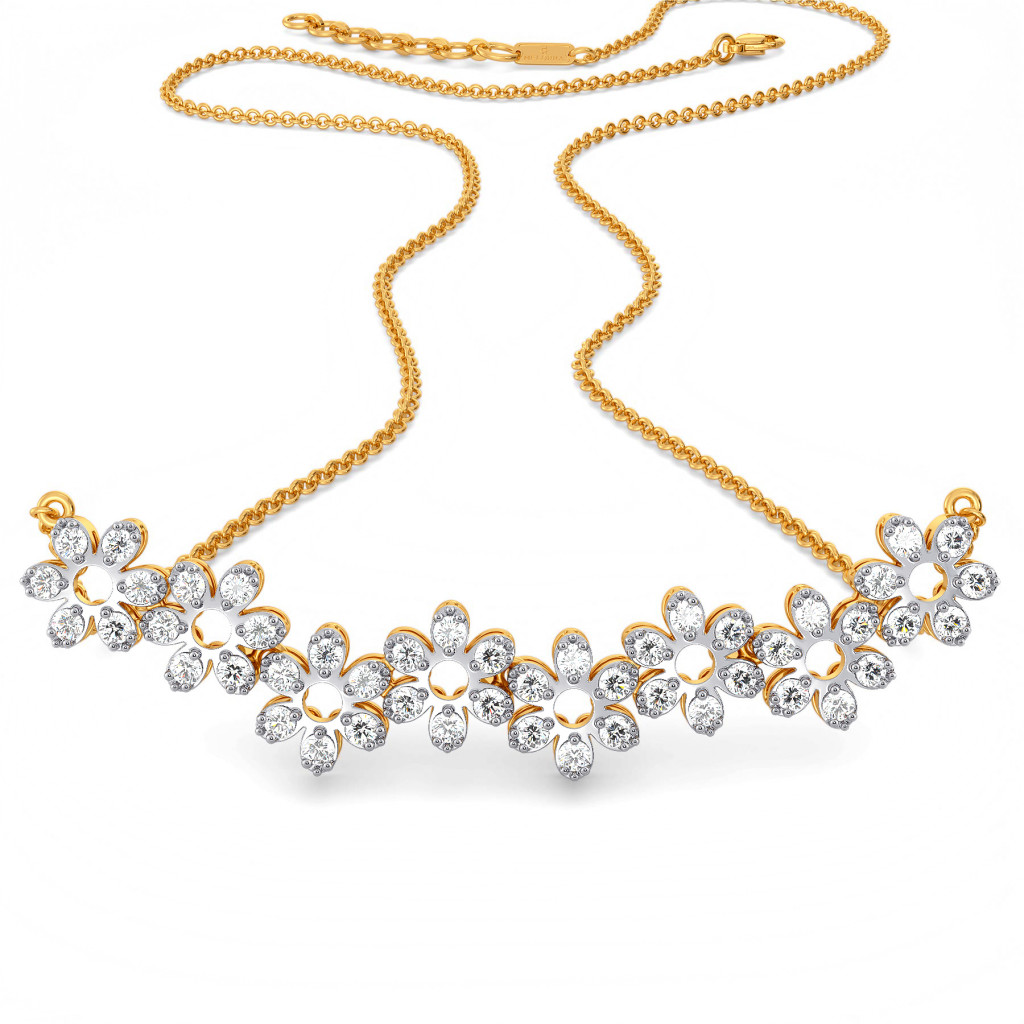 Lace Replay Diamond Necklaces