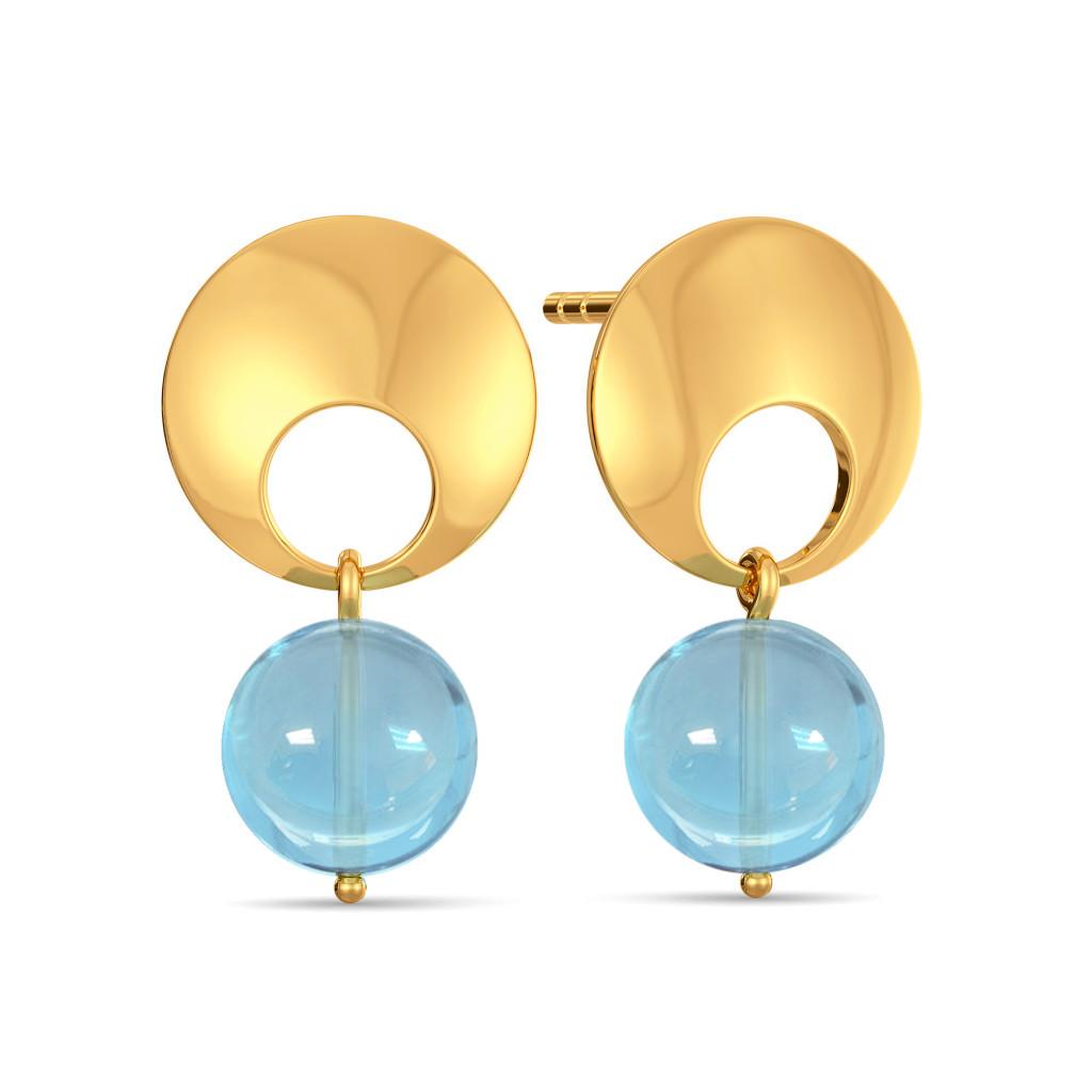 Do The Blue Gemstone Earrings