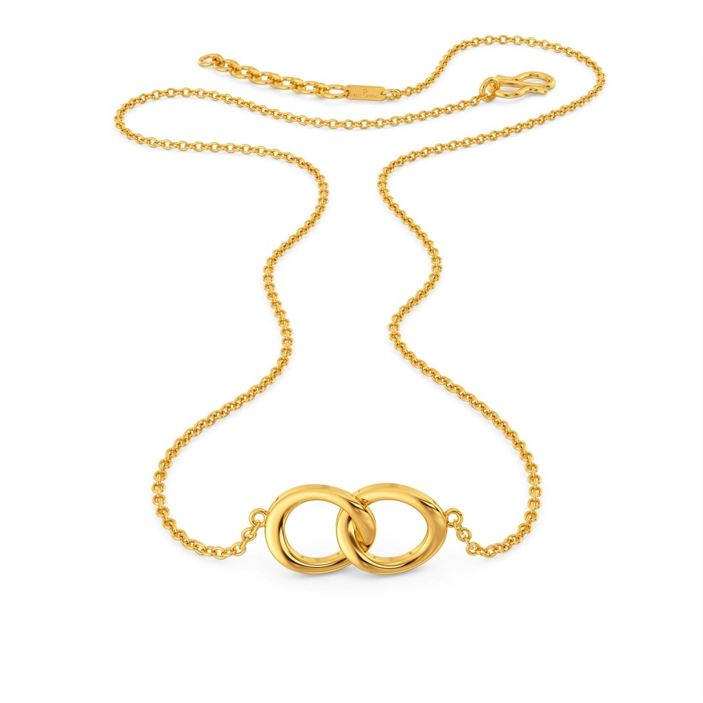 Bound to Round Gold Necklaces