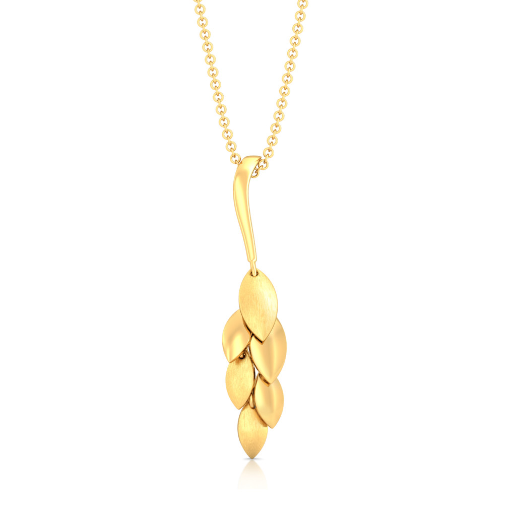 Floral Chimes Gold Pendants