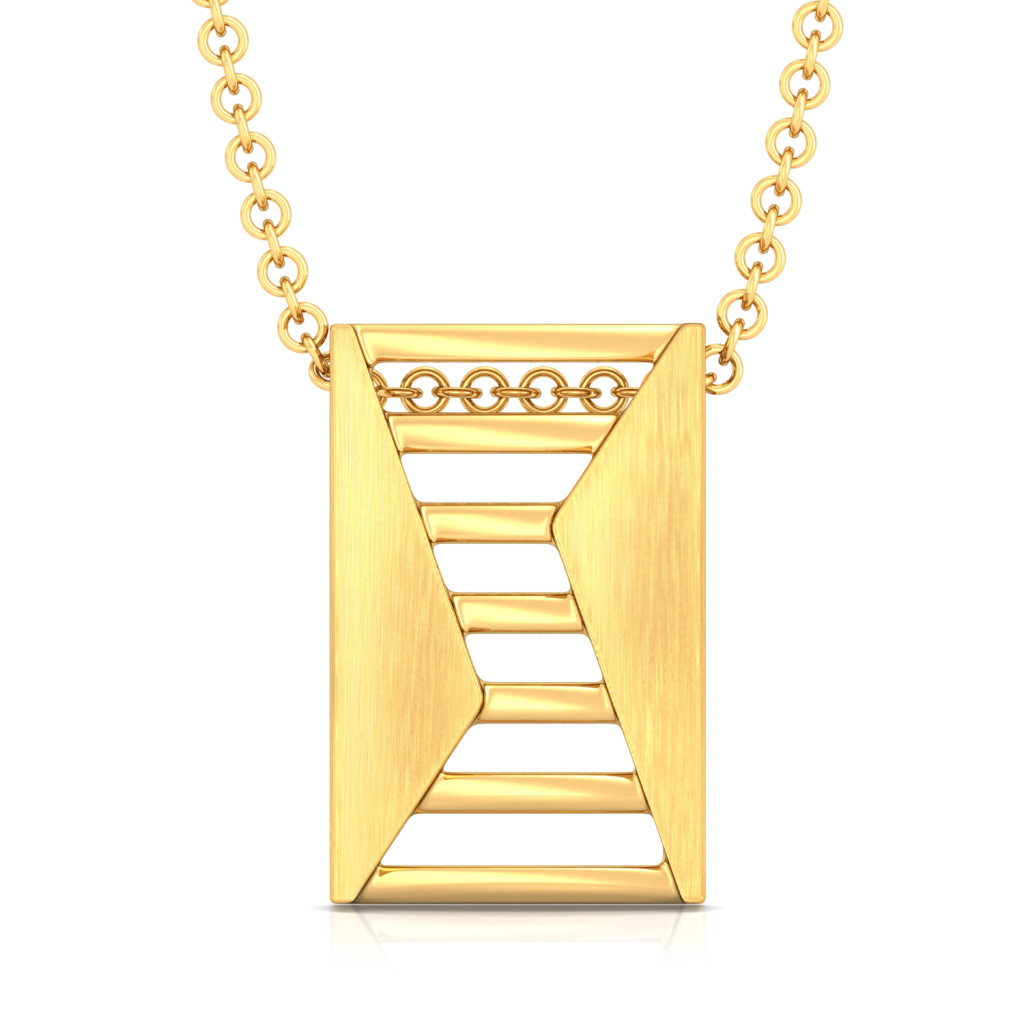 Style Ladder Gold Pendants