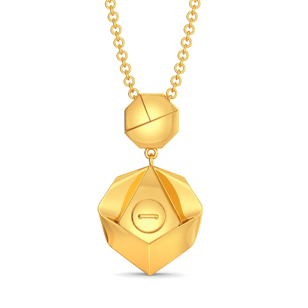 Urban Jungle Gold Pendants
