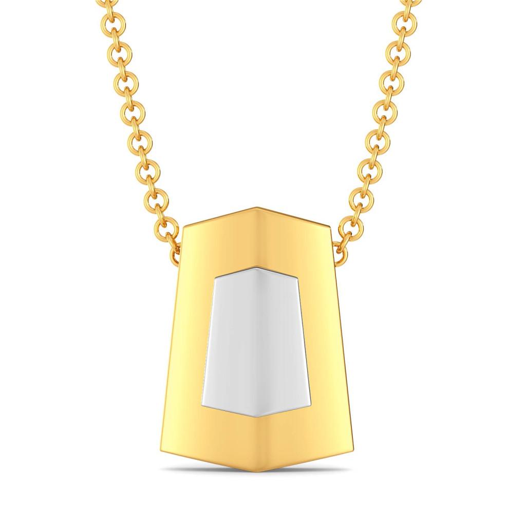 Wild Whites Gold Pendants