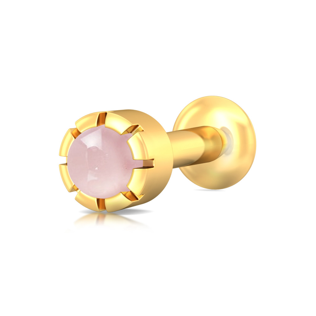 Blush Crush Gemstone Nose Pins