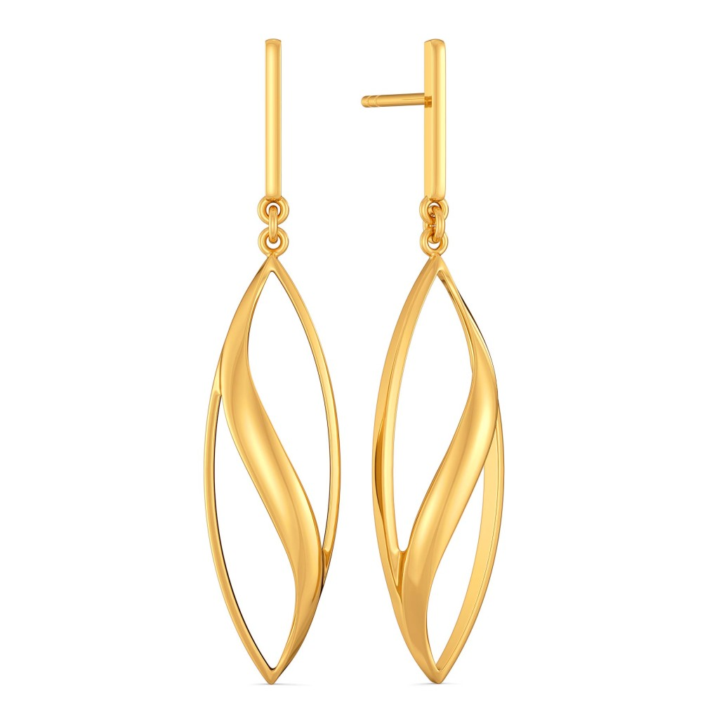 The Cool Lopsided Gold Earrings