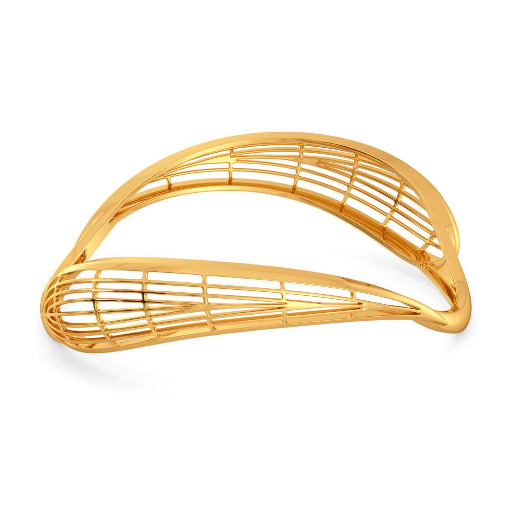 Pick A Paisl Gold Bangles