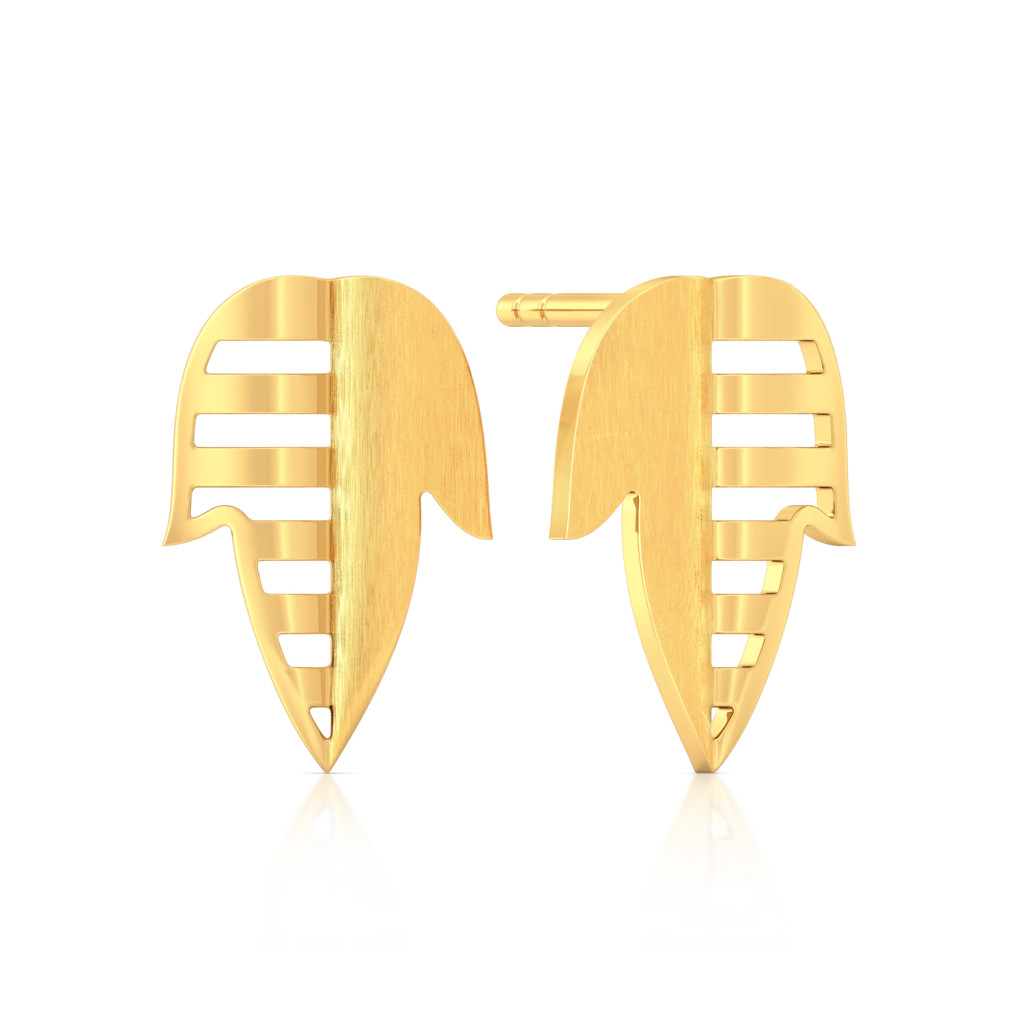 Whimsical mix Gold Earrings