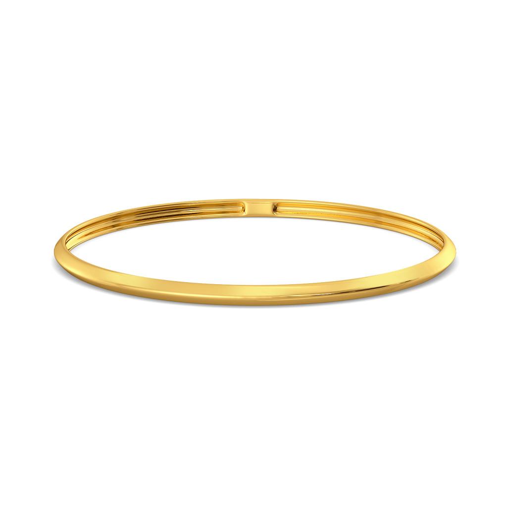 D-tucks Gold Bangles
