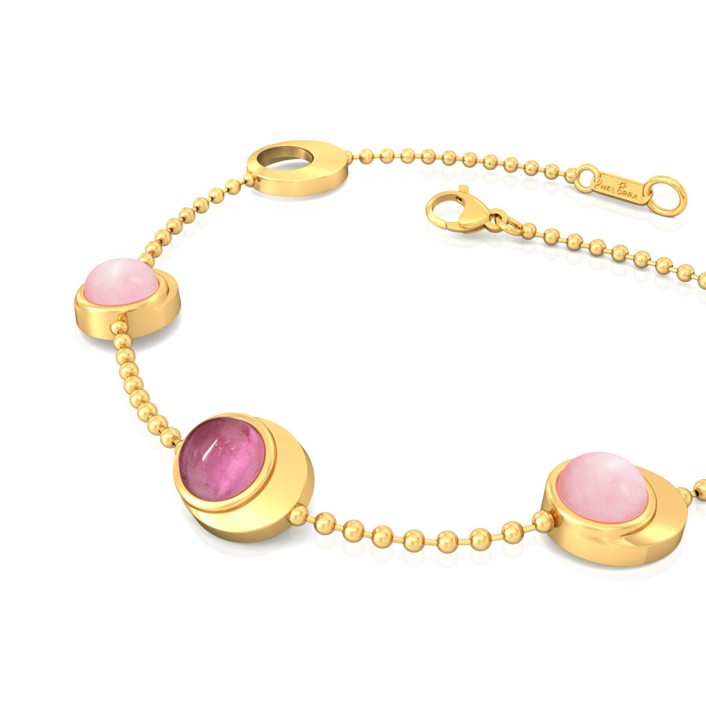Pink Panther Gemstone Bracelets