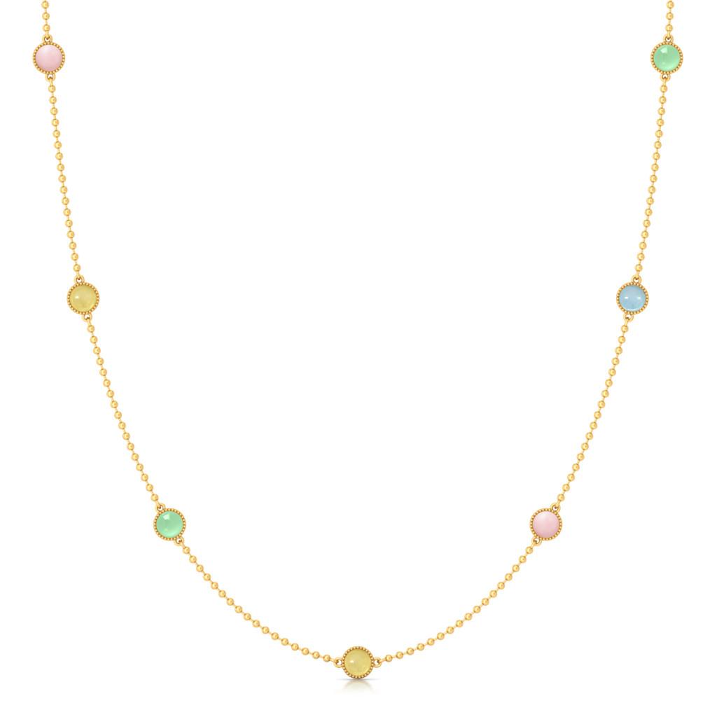 Gelato Party Gemstone Necklaces