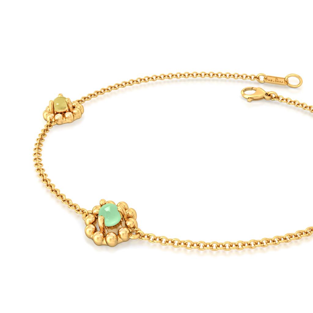 Scoops and Sprinkles Gemstone Bracelets