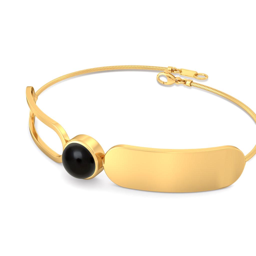 Paperclip Gemstone Bracelets