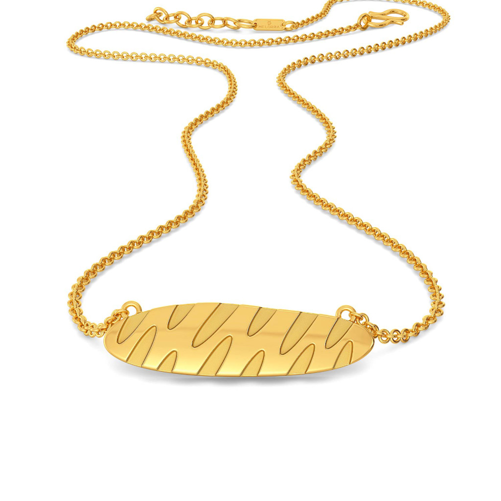 Groove Trove Gold Necklaces