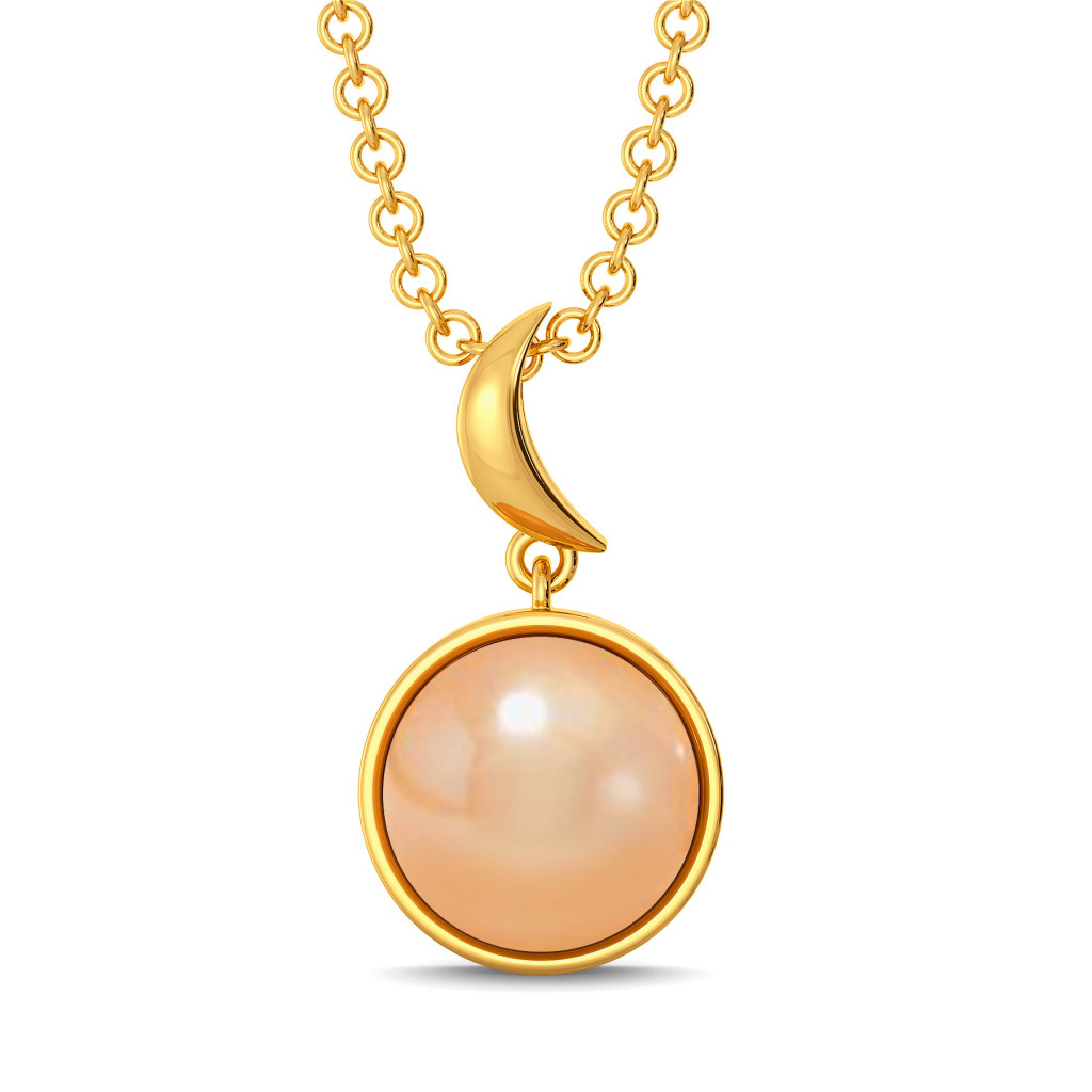 Cream O Blush Gemstone Pendants