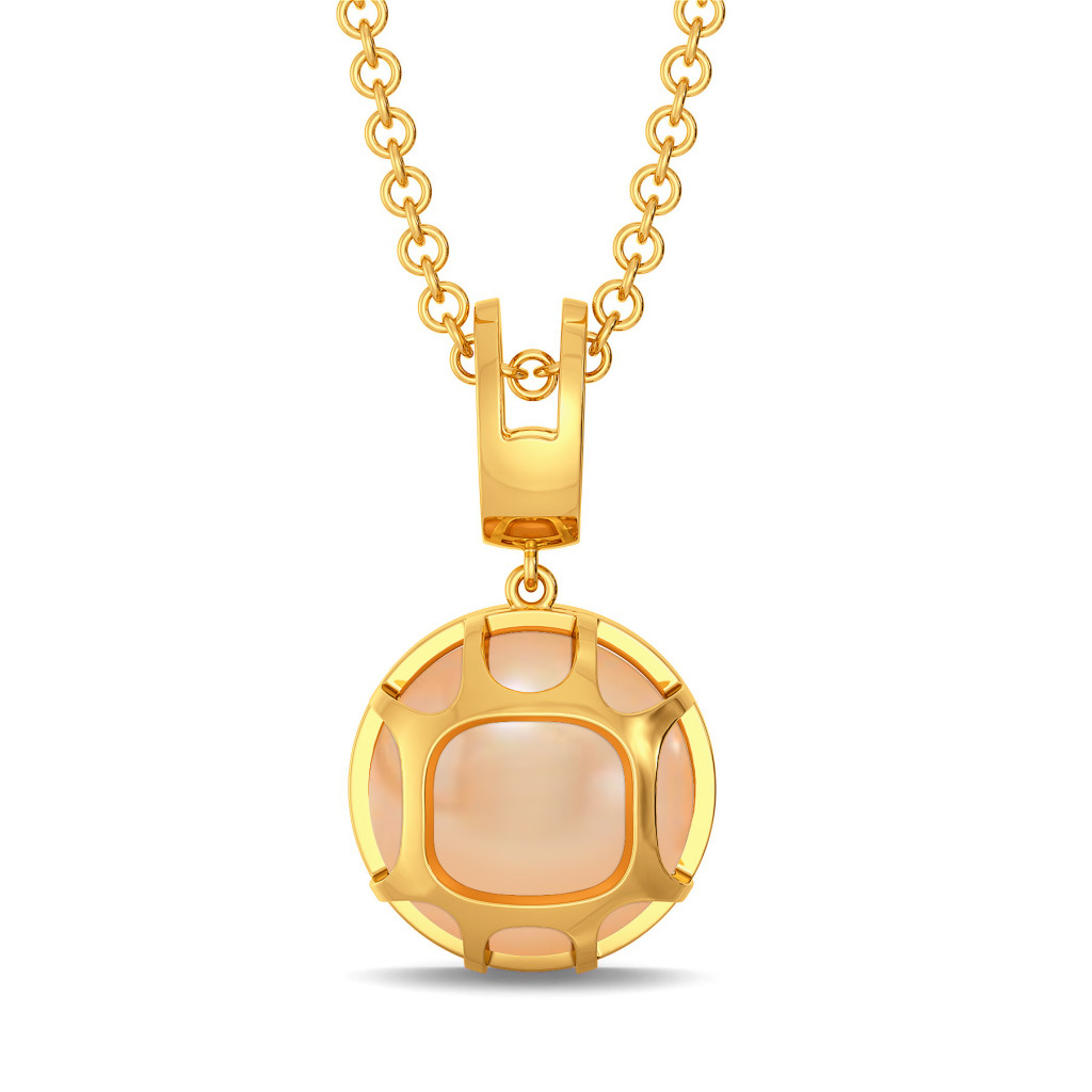 My Kinda Peach Gemstone Pendants
