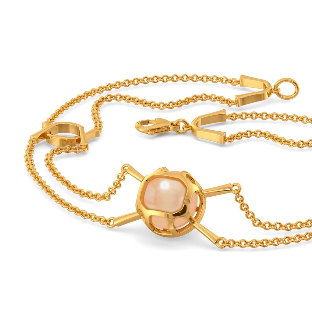 Peach Pin Up Gemstone Bracelets