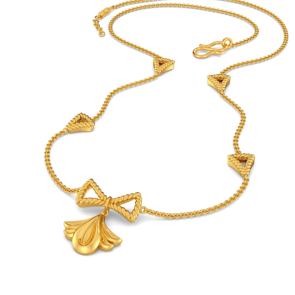 Lily Trilogy Gold Necklaces