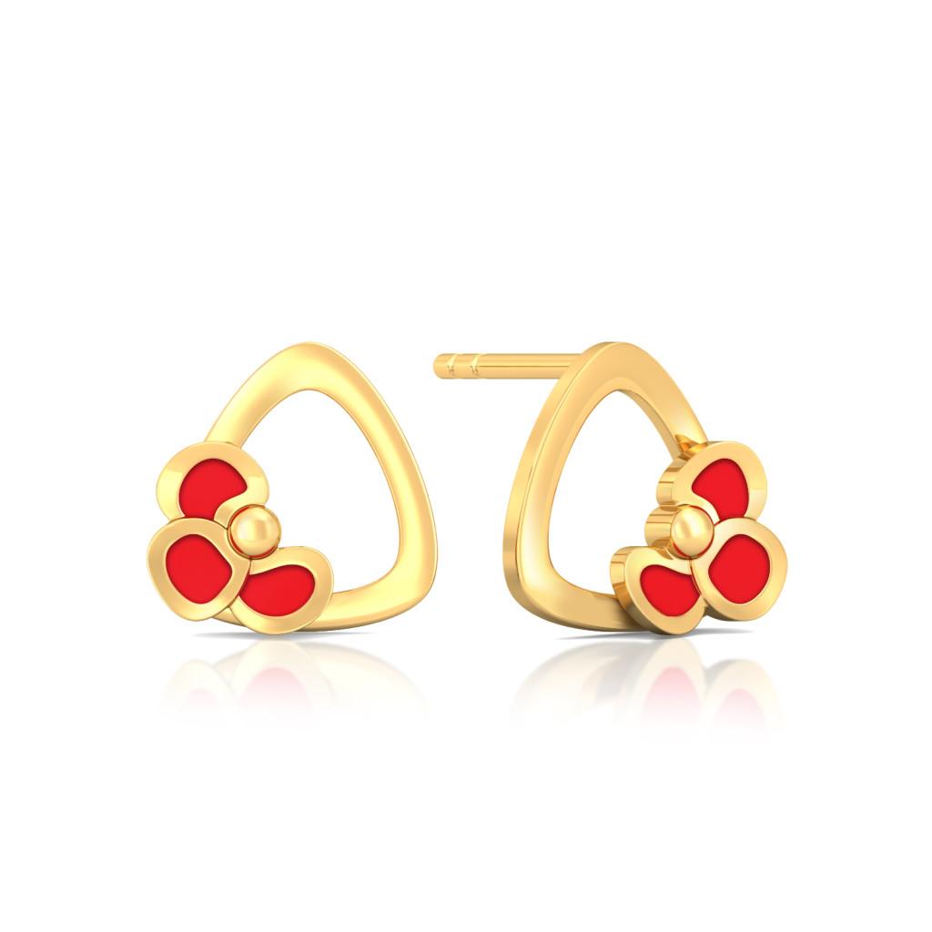 Tropic of Rose Gold Earrings