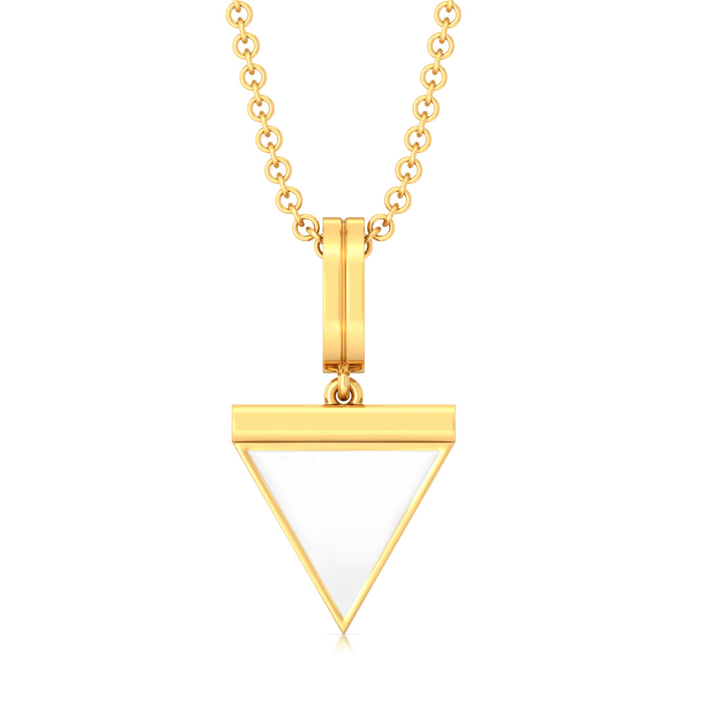 The Power Knock Gold Pendants