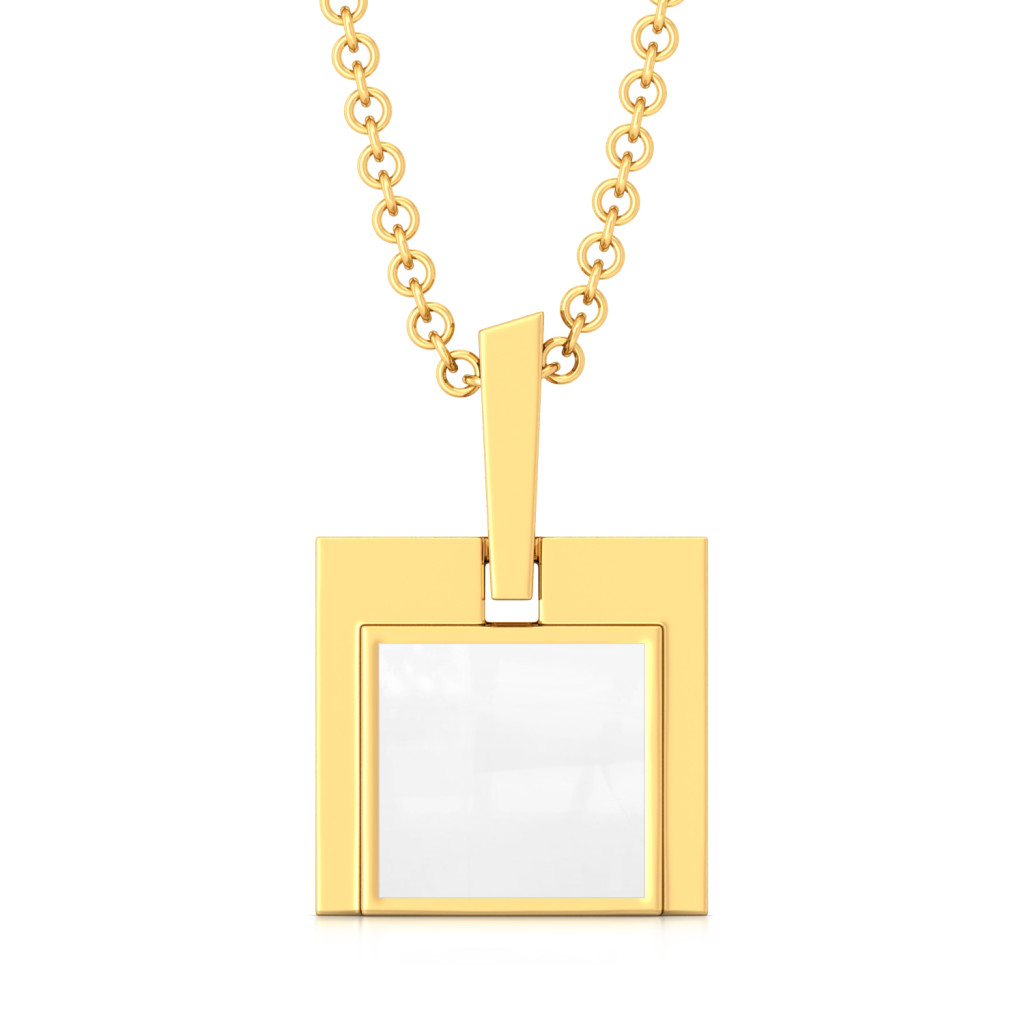 The Unbox Code Gold Pendants