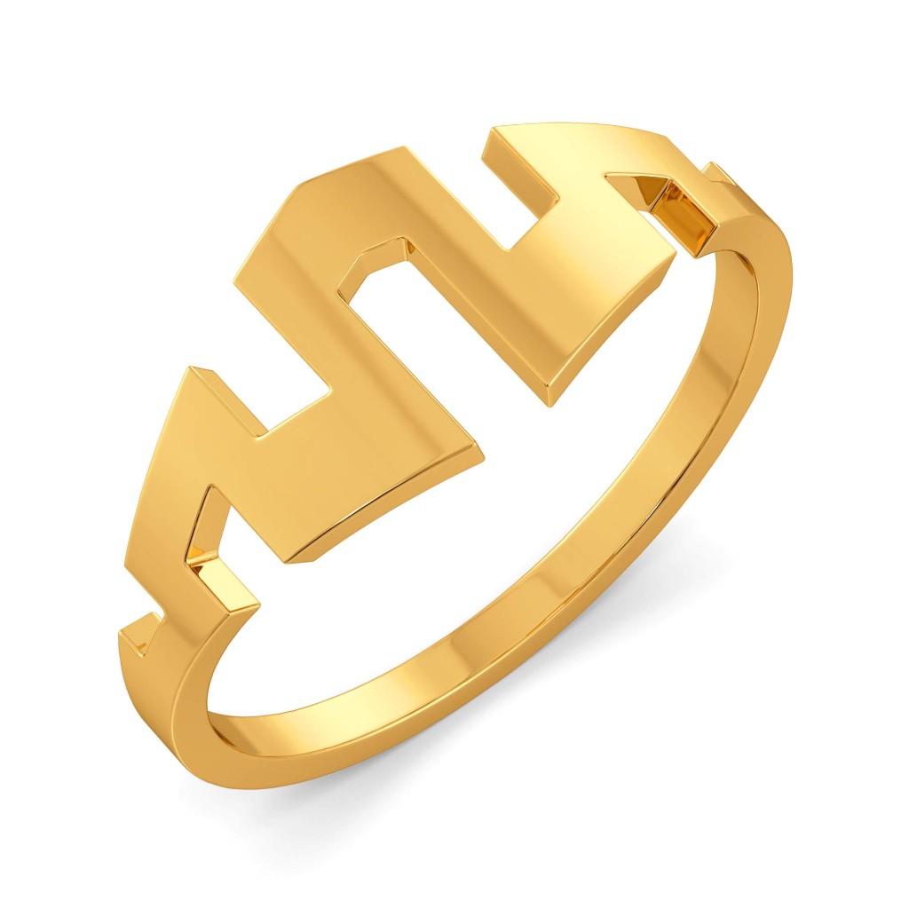Madame Glam Gold Rings