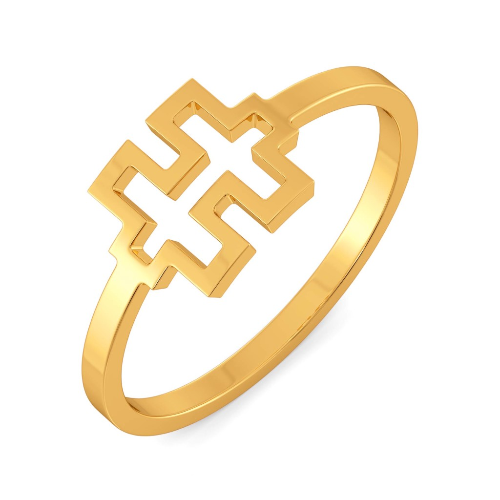 Parade Puzzle Gold Rings