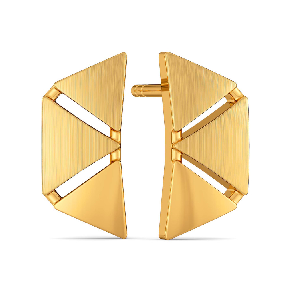 Bougie Dressing Gold Earrings