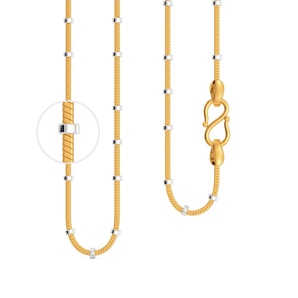 22kt Lancer 3 Chain Gold Chains