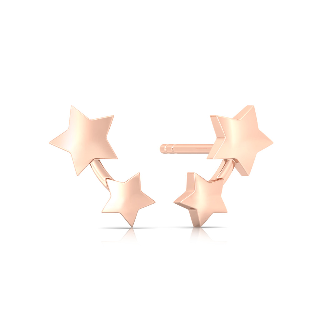 Twinkles Gold Earrings