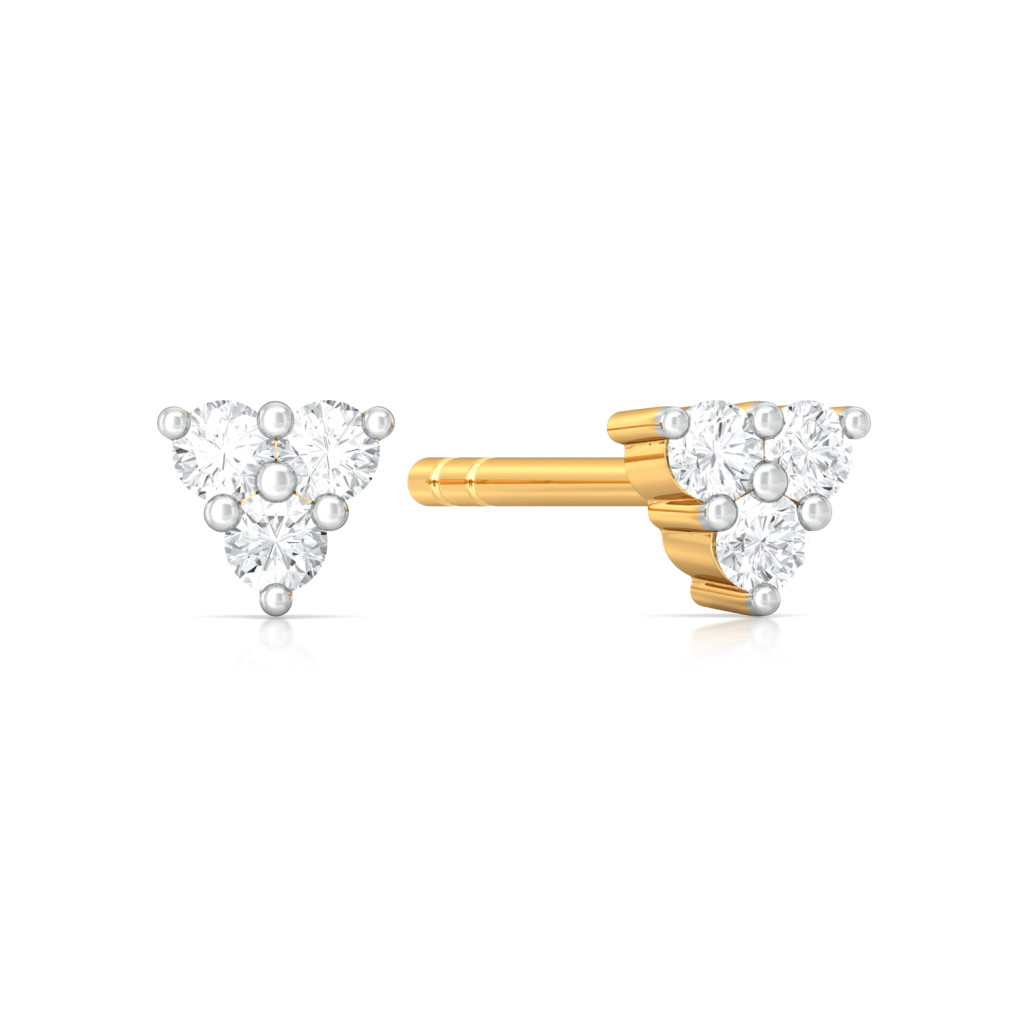 Trio-fic  Diamond Earrings
