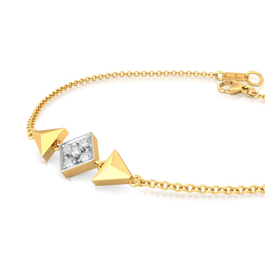 Lozenge Stance Diamond Bracelets