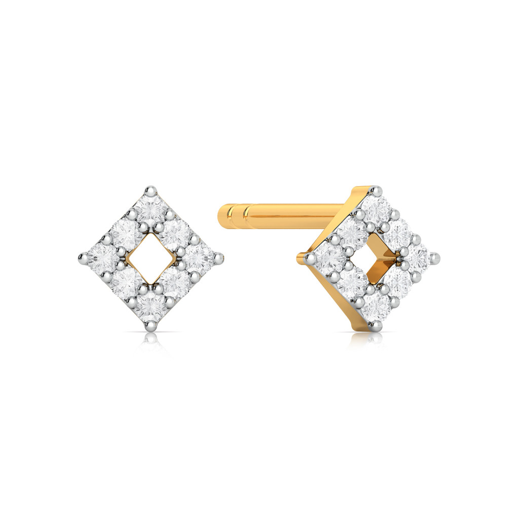 Teeny Dreamy Diamond Earrings