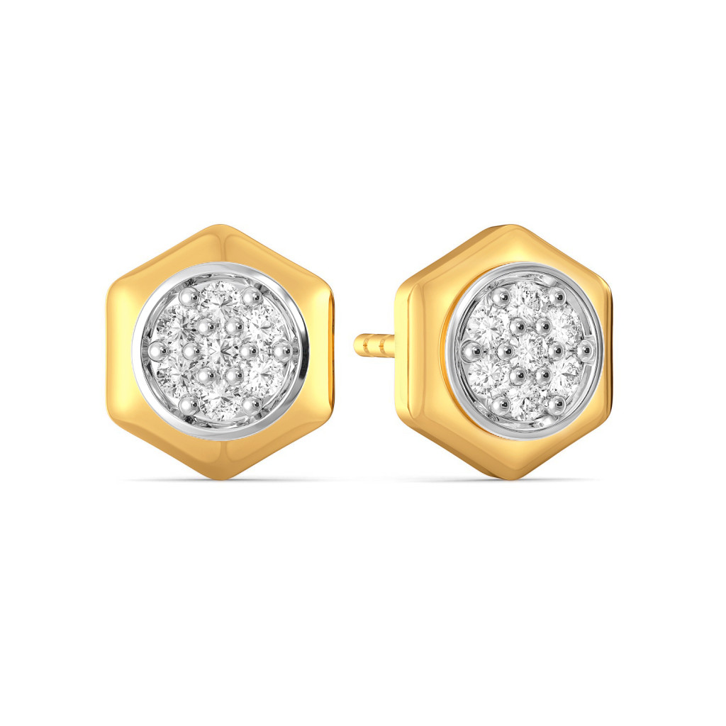 The Six Mix Diamond Earrings