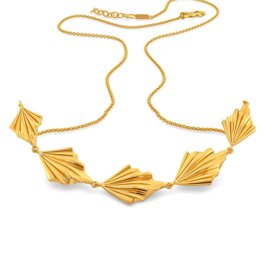 Chill Frill Gold Necklaces