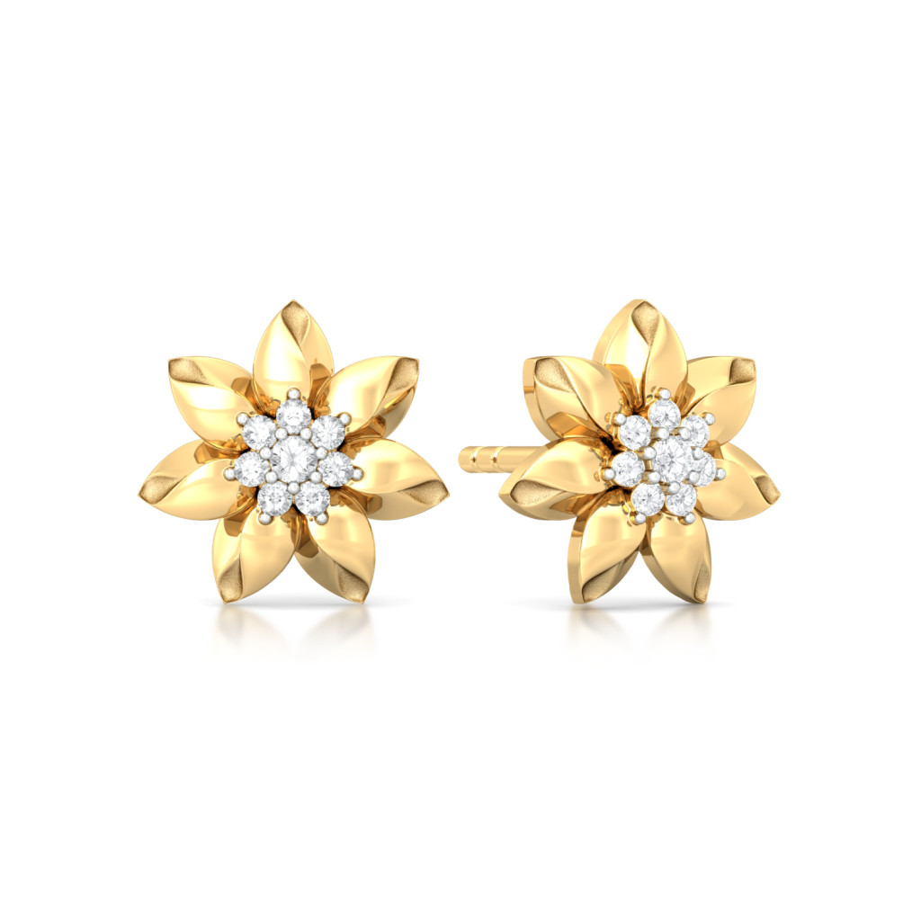 Lily Love Diamond Earrings