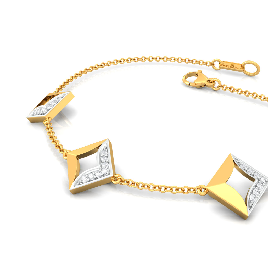 Floral Fyre Diamond Bracelets