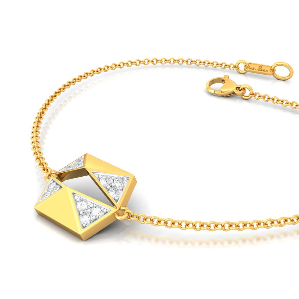Renaissance Queen  Diamond Bracelets