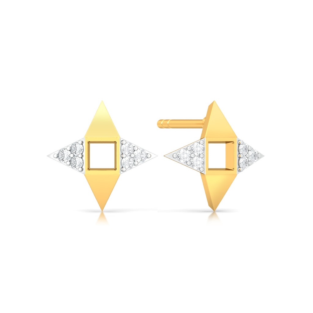 Renaissance Queen  Diamond Earrings