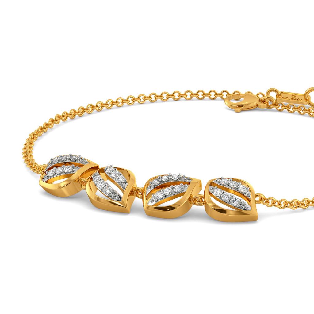 A Petal Place Diamond Bracelets