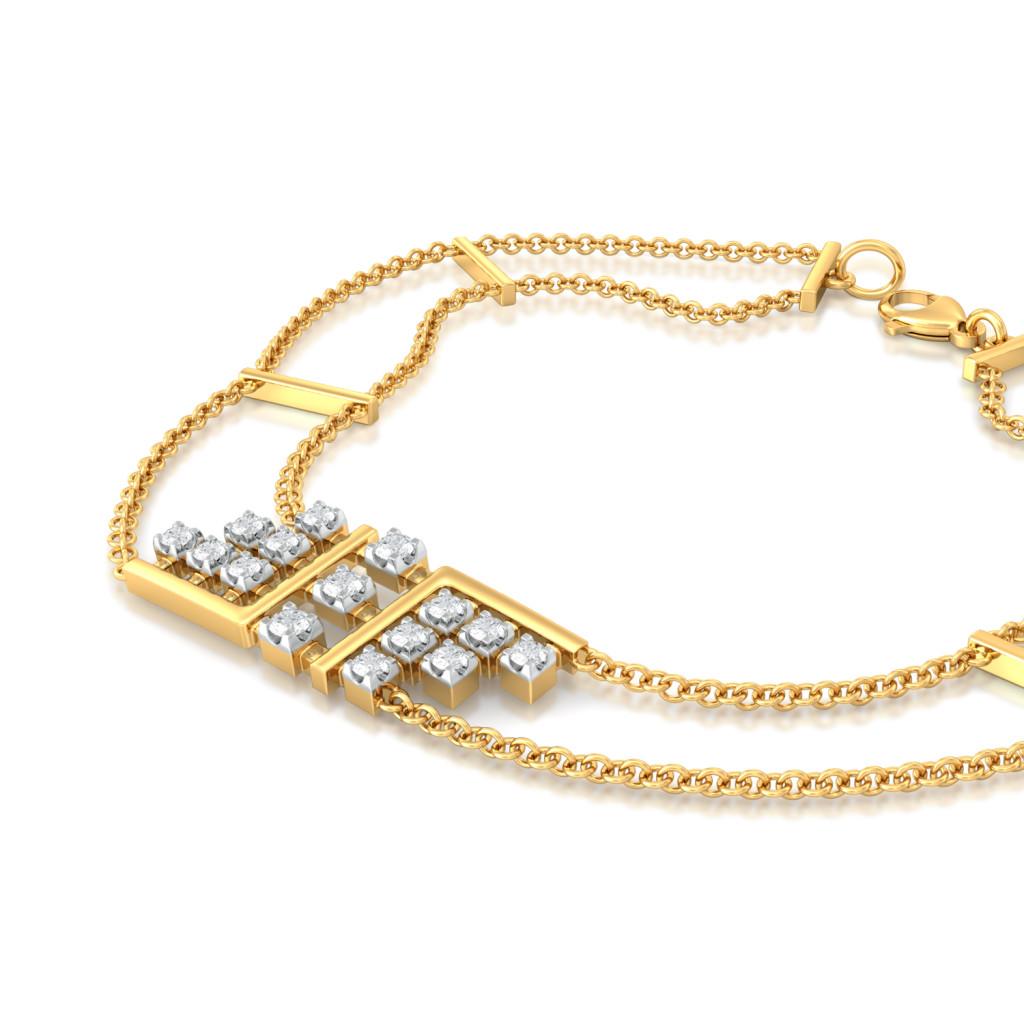 Gingham Glam Diamond Bracelets