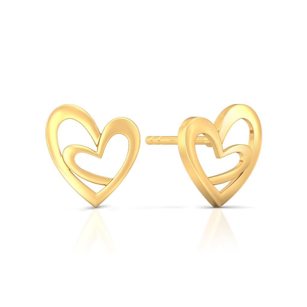 Mills & Miles Gold Earrings
