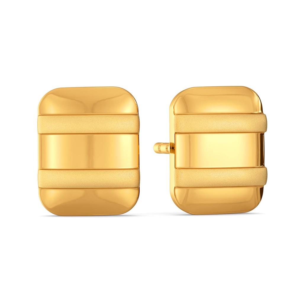 Parisian Panache Gold Earrings