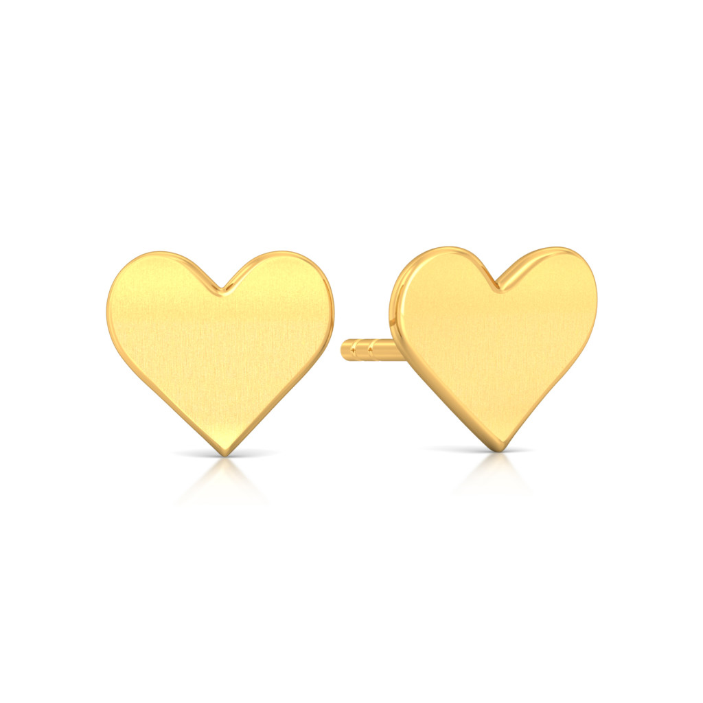Love Me Tender Gold Earrings