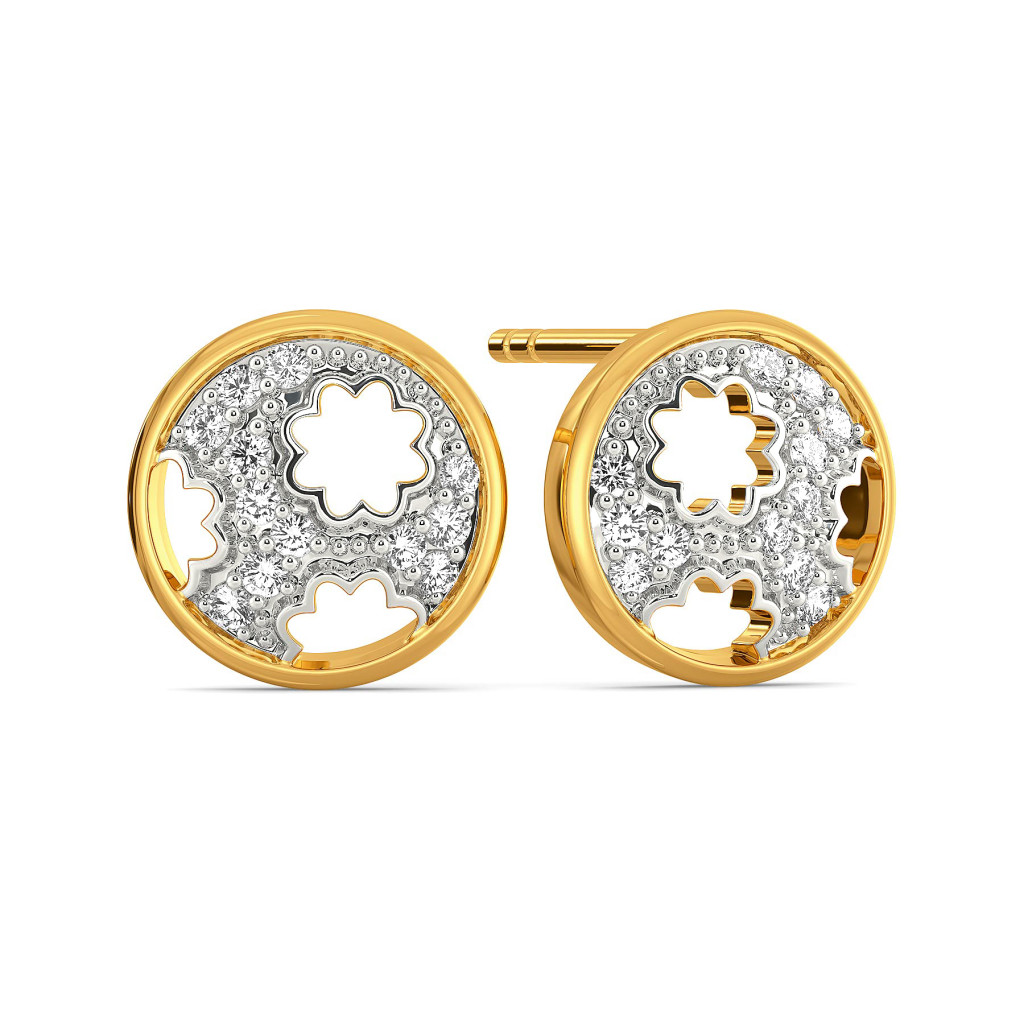 Grace A Lace Diamond Earrings
