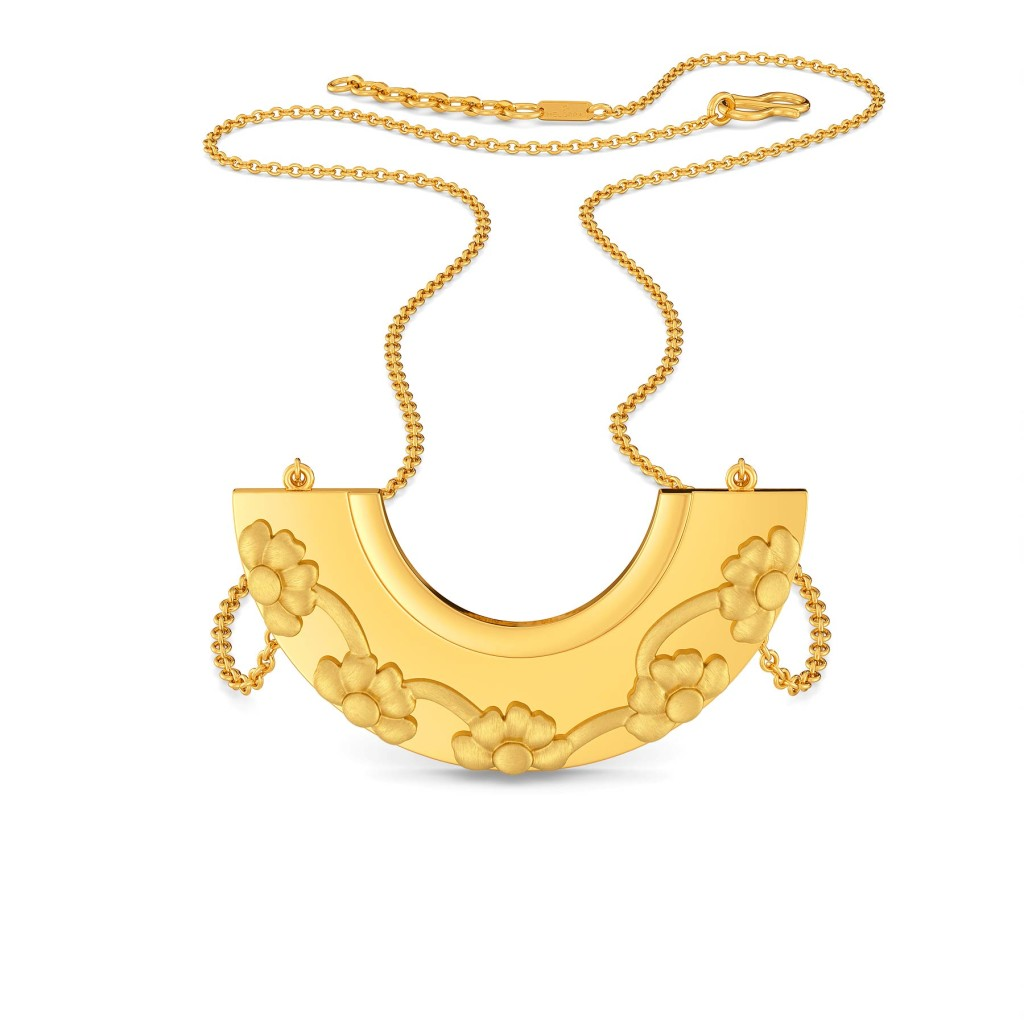 Birds of Paradise Gold Necklaces